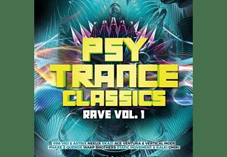 VARIOUS - Psy Trance Classics-Rave Vol.1  - (CD)