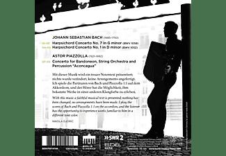Nikola/kurpfälzisches Kammerorchester Djoric - BACH/PIAZOLLA:BACH PIAZOLLA  - (CD)