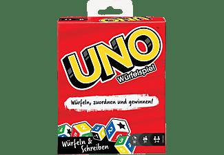 MATTEL GAMES UNO Würfelspiel Mehrfarbig