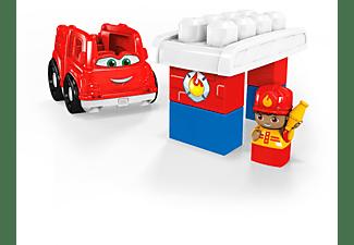 MEGA BLOKS Kleines Fahrzeug Feuerwehrauto Spielset, Mehrfarbig
