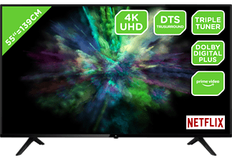 OK. ODL 55850US-TIB LED TV (Flat, 55 Zoll / 139 cm, UHD 4K, SMART TV)