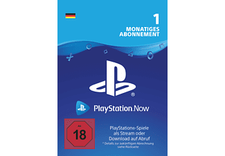 Sony Playstation Now DE - 1 Monat Mitgliedschaft - [PlayStation 4]