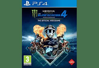 Monster Energy Supercross 4 NL/FR PS4