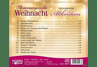 Diverse Interpreten - Stimmungsvolle Weihnacht-Akkordeon  - (CD)