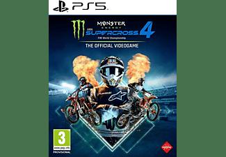Monster Energy Supercross 4 NL/FR PS5