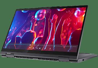 LENOVO Yoga 7i EVO, Convertible mit 14 Zoll Display, Core™ i7 Prozessor, 16 GB RAM, 1 TB SSD, Intel Iris Xe Grafik, Schiefergrau