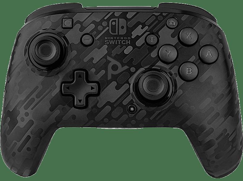 PDP Draadloze Nintendo Switch Controller Faceoff Deluxe+ Audio Zwart (500-134-NA-CM00)