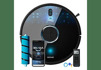 Robot aspirador - Cecotec Conga 7090 IA, 10000 Pa, 240 min, 6400 mAh, APP Control, 64 dB, Negro