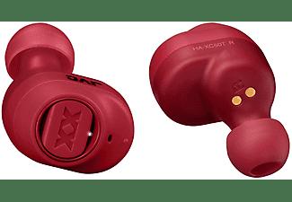 Auriculares inalámbricos - JVC HA-XC50T-R-U XX, True Wireless, 14h, IP55, Bluetooth, Rojo + Estuche de carga