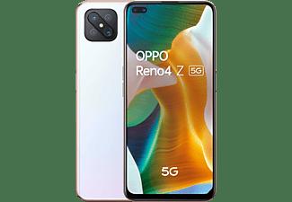 "Móvil - OPPO RENO4 Z 5G, Blanco, 128 GB, 8 GB, 6.57"" FHD+, MTK MT6873V, 4000 mAh, Android"