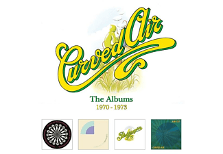 Curved Air - The Albums 1970-1973-4CD Box Set  - (CD)