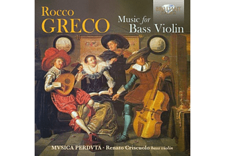 VARIOUS - Greco:Music For Bass Violin  - (CD)