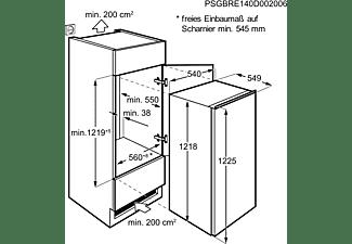 AEG SKA712FAAS Kühlschrank (F, 1218 mm hoch, Weiß)
