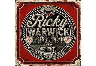 Ricky Warwick - WHEN LIFE WAS HARD And FAST  - (Vinyl)