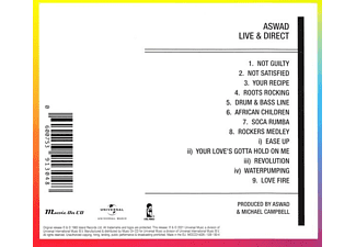 Aswad - Live And Direct  - (CD)