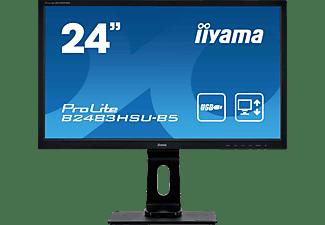 IIYAMA PROLITE B2483HSU-B5 24 Zoll Full-HD Monitor (1 ms Reaktionszeit, 75 Hz)
