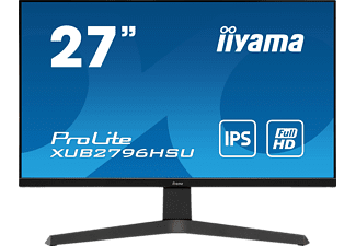 IIYAMA PROLITE XUB2796HSU-B1 27 Zoll Full-HD Monitor (1 ms Reaktionszeit, 75 Hz)