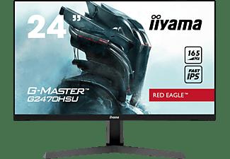 IIYAMA G-MASTER G2470HSU-B1 RED EAGLE ™ 24 Zoll Full-HD Gaming Monitor (0,8 ms Reaktionszeit, 165 Hz)