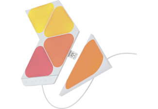 NANOLEAF Shapes Triangles Mini 5PK Starter Kit Multicolor / Warmweiß / Tageslichtweiß