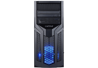 CAPTIVA I58-681, Gaming PC mit Core i5 Prozessor, 16 GB RAM, 480 GB SSD, RTX 2060, 6 GB
