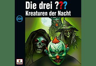 Die Drei ??? - 209/Kreaturen der Nacht  - (CD)