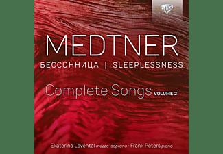 Levental,Ekaterina/Peters,Frank - Medtner:Sleeplessness,Complete Songs Vol.2  - (CD)