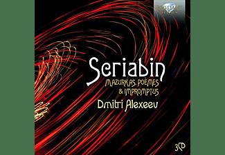 Dmitri Alexeev - SCRIABIN: MAZURKAS, POEMES And IMPROMTUS  - (CD)