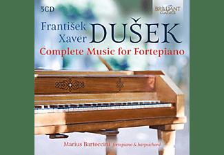 Marius Bartoccini - Dusek:Complete Music For Fortepiano  - (CD)