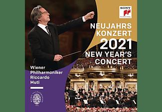 Wiener Philharmoniker & Riccardo Muti - NEW YEAR'S CONCERT 2021  - (CD)