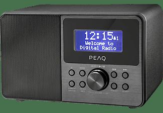PEAQ PDR 160 BT-B-1 DAB+ Radio, FM, DAB+, Bluetooth, Schwarz