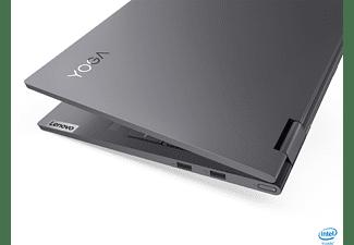 LENOVO Yoga 7i EVO, Convertible mit 15,6 Zoll Display, Core™ i7 Prozessor, 16 GB RAM, 512 GB SSD, Intel Iris Xe Grafik, Schiefergrau