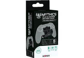 INNELEC KONIX Hochleistungs-Akku-Kit für Xbox Series X Controller
