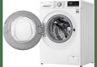 LG ELECTRONICS V4WD850 Waschtrockner 8kg/5kg, 1400 U/Min. Weiß