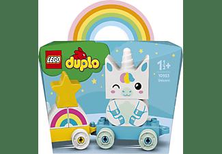 LEGO 10953 Mein erstes Einhorn Bausatz, Mehrfarbig