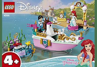LEGO 43191 Arielles Festtagsboot Bausatz, Mehrfarbig