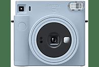 Cámara instantánea - Fujifilm Instax SQ1, Con película, Visor Galileo inverso, Obturador electrónico, Azul