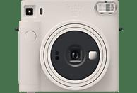 Cámara instantánea - Fujifilm Instax SQ1, Con película, Visor Galileo inverso, Obturador electrónico, Blanco