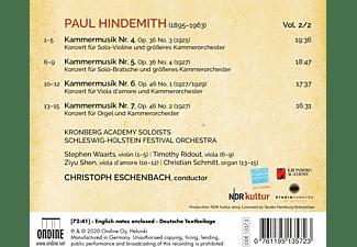 Christoph Kronberg Academy Soloists/eschenbach - Kammermusik IV - V - VI - VII  - (CD)