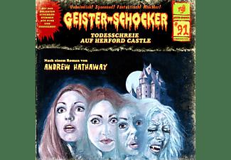 Geister-schocker - Todesschreie Auf Herford Castle - Vol.91  - (CD + Blu-ray Disc)