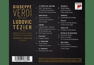 Ludovic/Chaslin/Orch.d.Teatro Com.Bologna Tezier - Verdi  - (CD)