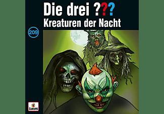 Die Drei ??? - 209/Kreaturen der Nacht  - (MC (analog))