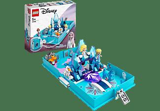 LEGO 43189 Elsas Märchenbuch Bausatz, Mehrfarbig