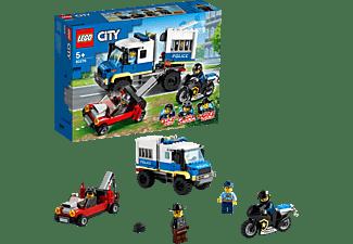 LEGO 60276 Polizei Gefangenentransporter Bausatz, Mehrfarbig