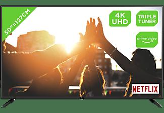 OK. ODL 50750UC-TIB LED TV (Flat, 50 Zoll / 127 cm, UHD 4K, SMART TV)