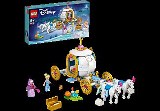 LEGO 43192 Cinderellas Königliche Kutsche Bausatz, Mehrfarbig