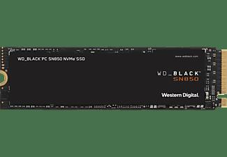 WD BLACK SN850 NVMe, PCIe 4.0, 500 GB, SSD, intern