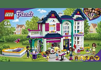 LEGO 41449 Andreas Haus Bausatz, Mehrfarbig