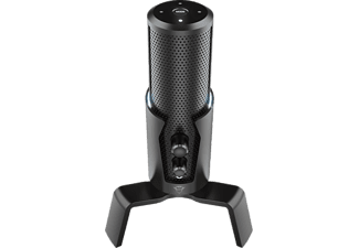 TRUST Streaming Mikrofon GXT 258 Fyru 4-in-1, USB, Schwarz (23465)