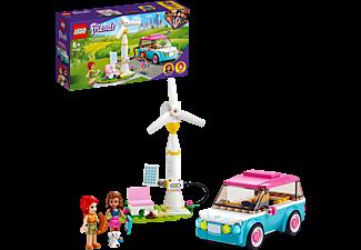 LEGO 41443 OLIVIAS ELEKTROAUTO Bausatz, Mehrfarbig