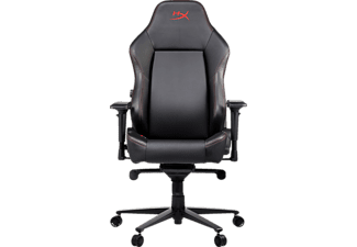 HYPERX LICENSE HX-367501 Gaming Stuhl, Schwarz